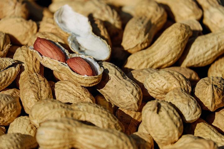 L-チロシン豊富なナッツ