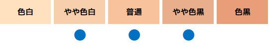 uno(ウーノ) フェイスカラークリエイター(ナチュラル)に合った肌色