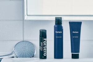 メンズの髪悩みにアプローチ!男性向けヘアケアブランド「Fortero(フォルテロ)」誕生